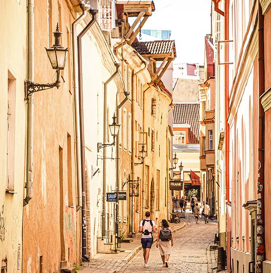탈린올드타운 산책