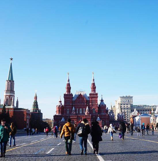 모스크바 시내집중투어